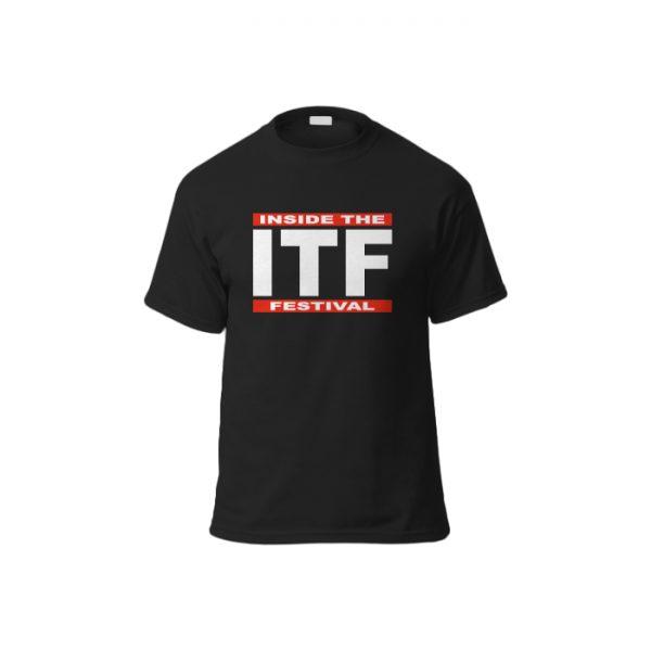 ITF Tee Shirt Mock up BLACK